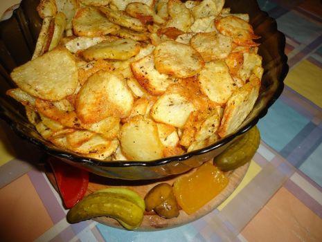 Przepis: Chipsy ziemniaczane