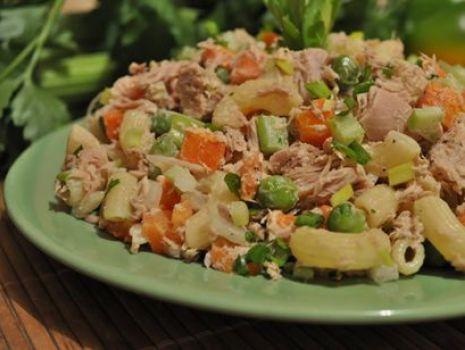 Przepis: Makaron z tuńczykiem