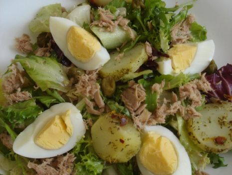 Przepis: Sałatka włoska z tuńczykiem