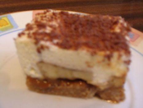 Przepis: Bananowe ciasto wiedeńskie