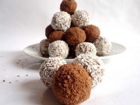 Przepis: Kakaowe kuleczki a'la rafaello