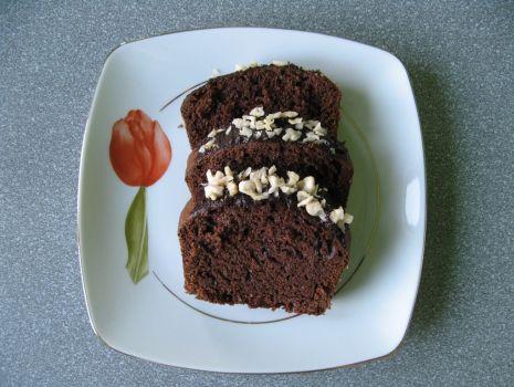 Przepis: Murzynek z czekoladą