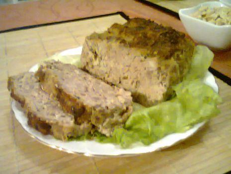 Przepis: Domowa pieczeń z mięsa mielonego