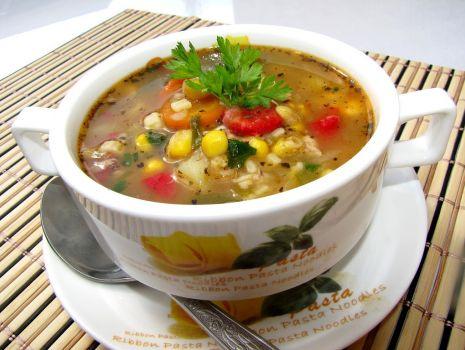 Przepis: Zupa meksykańska z kurczakiem