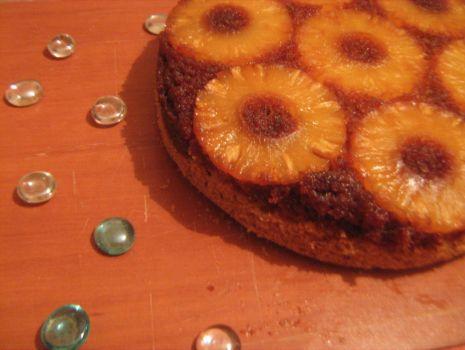 Przepis: Placek z ananasem