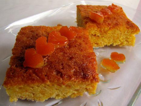 Przepis: Pomarańczowe ciasto z dynią