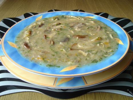 Przepis: Zupa z Leśnymi Grzybami