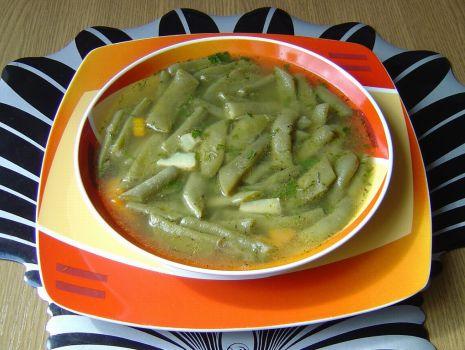 Przepis: Zupa z Fasolki Szparagowej Tycznej
