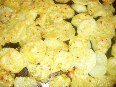 Przepis: ziemniaczki z serem