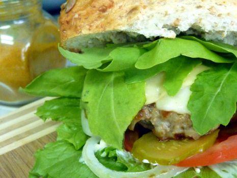 Przepis: Zdrowy, domowy hamburger!
