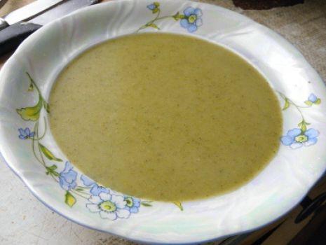 Przepis: Zupa - krem brokułowa