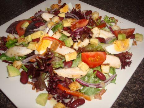 Przepis: Kolorowa salatka