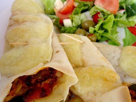 Przepis: Naleśniki a'la tortilla