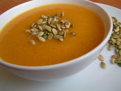 Przepis: Przepyszna zupa z dynii