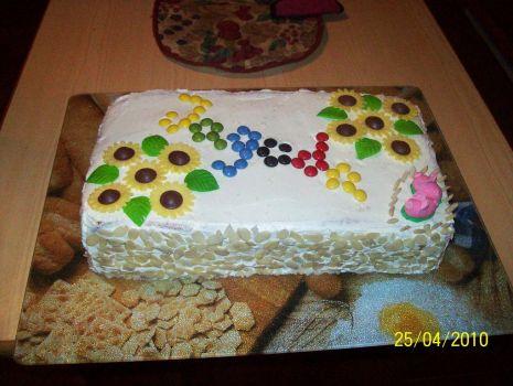 Przepis: Tort śmietankowy