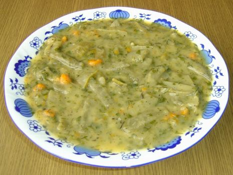 Przepis: Zupa z Zielonej Fasolki Szparagowej