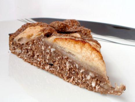 Przepis: Kakaowo-kokosowe ciasto z jabłkami