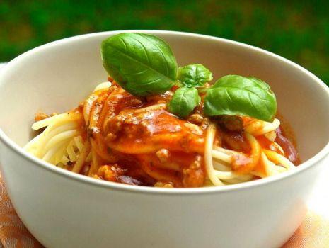 Przepis: Moje Spaghetti Bolognese