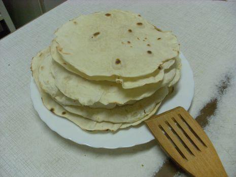 Przepis: Pszenne tortille
