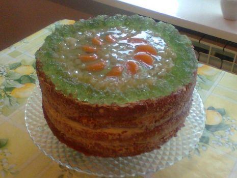 Przepis: Tort ananasowy