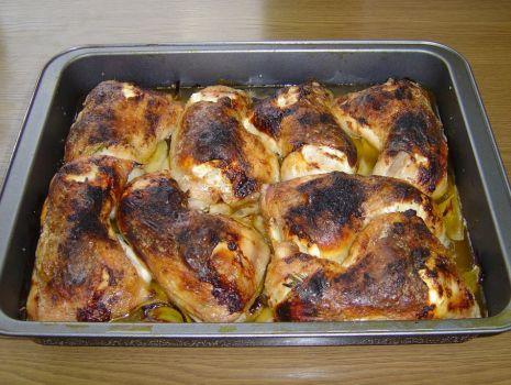 Przepis: Kurczak z Serem i Rozmarynem