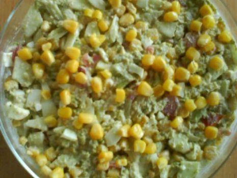 Przepis: Sałatka na zielono