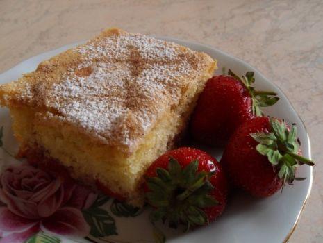 Przepis: Ciasto z truskawkami