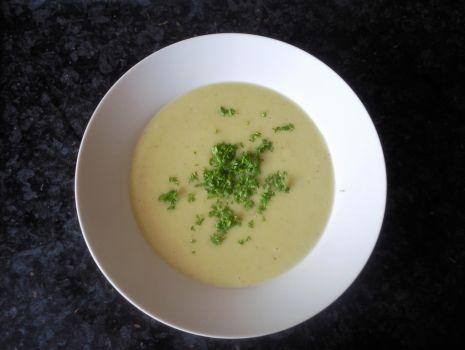 Przepis: Zupa krem porowo- ziemniaczany