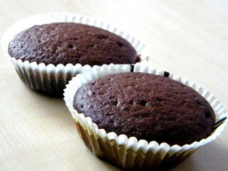 Przepis: Muffinki czekoladowe