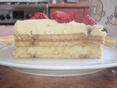 Przepis: Ciasto budyniowo-waniliowe