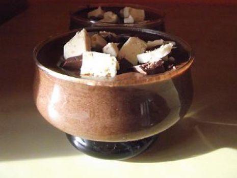Przepis: Mus kakaowo-kawowy