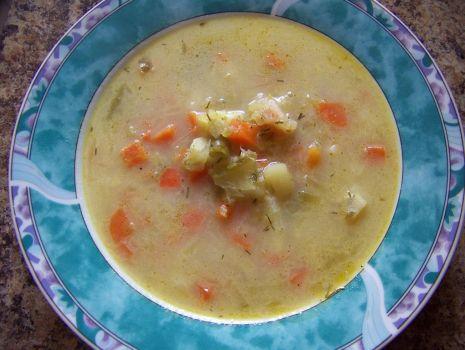 Przepis: Zupa ogórkowa