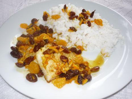Przepis: Ryba w sosie pomarańczowym