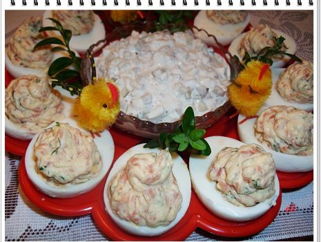 Przepis: Jajka łososiowe Eli