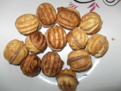 Przepis: Orzeszki - ciasteczka