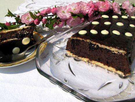 Przepis: Czekoladowe ciasto gotowane