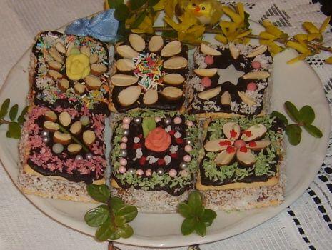 Przepis: Ciasteczkowe mazurki
