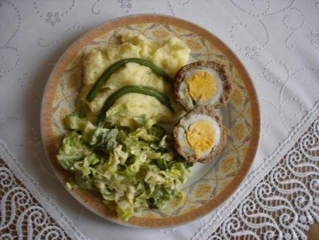 Przepis: Kotlety mielone z jajkiem