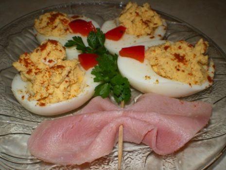 Przepis: Bukiet z jajek