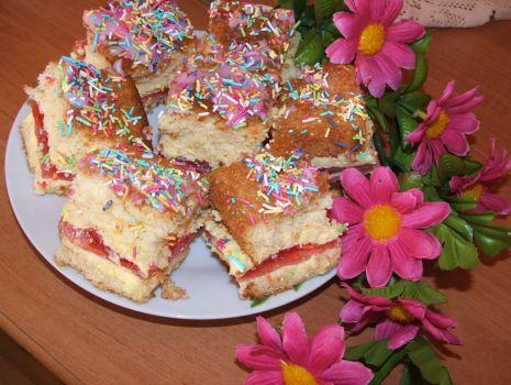 Przepis: Ciasto z posypką