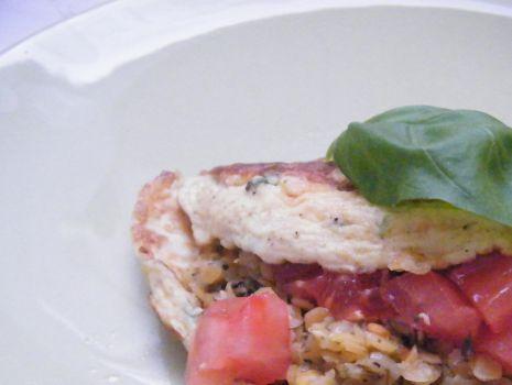 Przepis: pyszny omlet z soczewicą