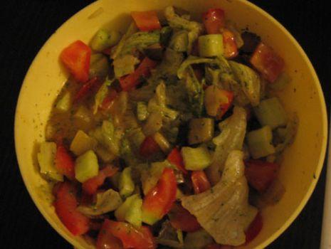 Przepis: Lekkie curry na zimno