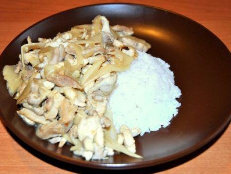 Przepis: Kurczak z Bambusem
