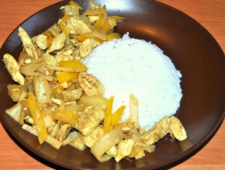 Przepis: Kurczak w sosie słodko-kwaśnym