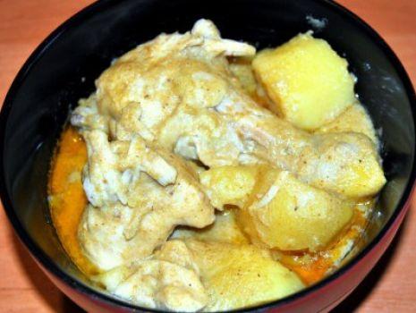 Przepis: Żółte Curry z Kurczakiem