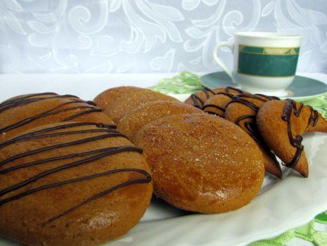 Przepis: Ciasteczka cynamonowo-miodowe