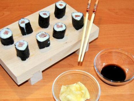Przepis: Tekka Maki Sushi