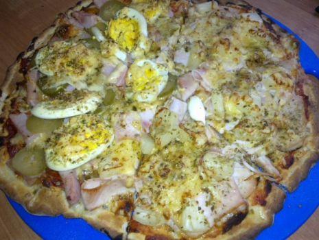 Przepis: Pizza na cienkim spodzie
