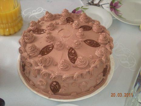 Przepis: tort  czekoladowy