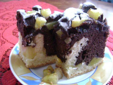 Przepis: Ciasto z gruszkami